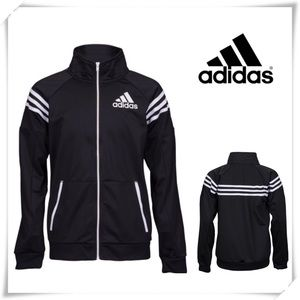 Adidas League Track Zip up Sweat Jacket Black